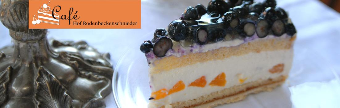 Titelbild der Caféseite des Hofes Rodenbeckenschnieder