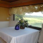Eine gemütlichte Übernachtungsmöglichkeit auf dem Hof Rodenbeckenschnieder bietet auch unser Wohnwagen.